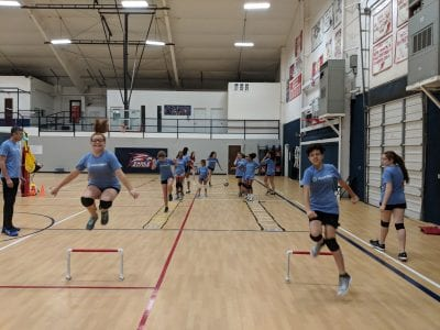 Volleyball Camp - The Volleyball School