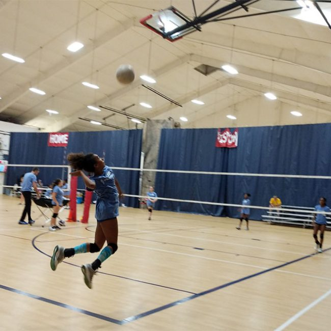djonkins sport training at the volleyball school