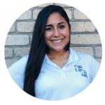 Coach Ashley Ruiz from the Volleyball School