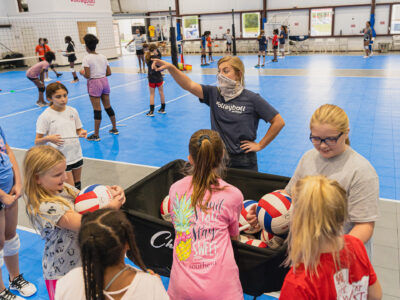 volleyball school beginners class